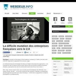 La difficile mutation des entreprises françaises vers le 2.0