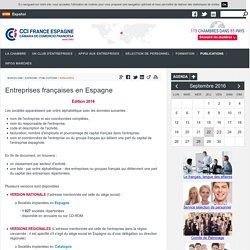 Entreprises françaises en Espagne