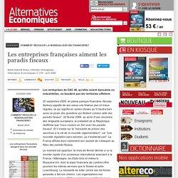 Les entreprises françaises aiment les paradis fiscaux