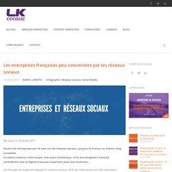 Les Entreprises françaises et les réseaux sociaux