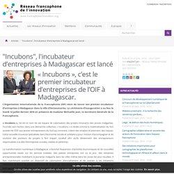 """""""Incubons"""", l'incubateur d'entreprises à Madagascar est lancé - Le réseau francophone de l'innovation"""