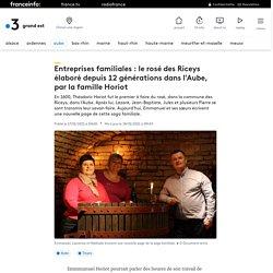 Entreprises familiales : le rosé des Riceys élaboré depuis 12 générations dans l'Aube, par la famille Horiot