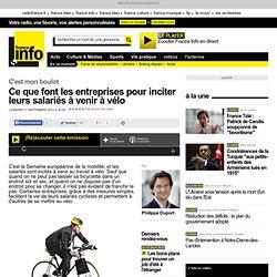 Ce que font les entreprises pour inciter leurs salariés à venir à vélo