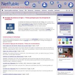 Stratégie de présence en ligne : 7 fiches pratiques pour les entreprises et institutions