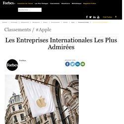 Les Entreprises Internationales Les Plus Admirées