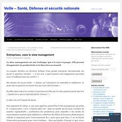 Veille – Santé, Défense et sécurité nationale