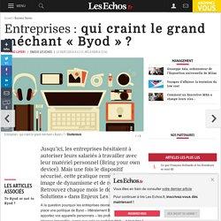 Entreprises: qui craint le grand méchant « Byod »?, Management