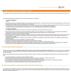 Entreprises de dix salariés et plus : les modalités de versement