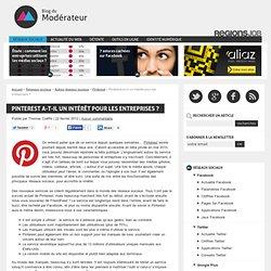 Pinterest a-t-il un intérêt pour les entreprises ?