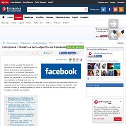 Entreprises : choisir les bons objectifs sur Facebook