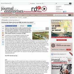 Partenariats Public-Privé Les PME ont-elles leur place?