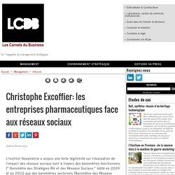 Christophe Excoffier: les entreprises pharmaceutiques face aux réseaux sociaux
