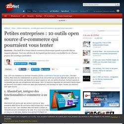 Petites entreprises : 10 outils open source d'e-commerce qui pourraient vous tenter - ZDNet