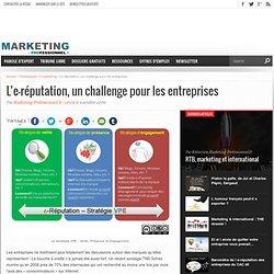 L'e-réputation, un challenge pour les entreprises - Marketing Pr