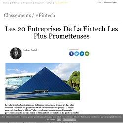 Les 20 Entreprises De La Fintech Les Plus Prometteuses