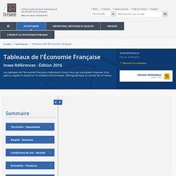Entreprises publiques−Tableaux de l'Économie Française