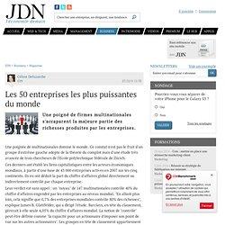Les 50 entreprises les plus puissantes du monde - Journal du Net Economie