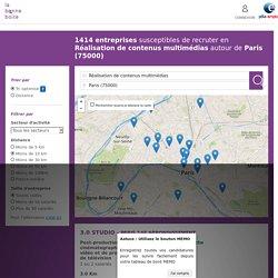 Entreprises qui recrutent à Paris dans Réalisation de contenus multimédias