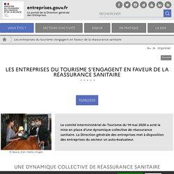 Les entreprises du tourisme s'engagent en faveur de la réassurance sanitaire
