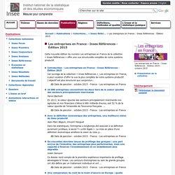 Les entreprises en France - Insee Références - Édition 2015