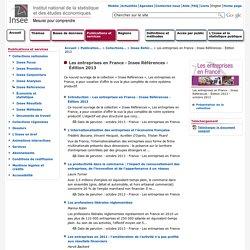 Les entreprises en France - Insee Références - Édition 2013