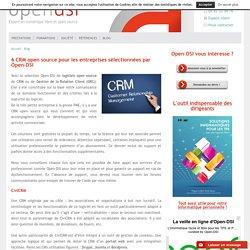 6 CRM open source gratuites pour les entreprises sélectionnées par Open-DSI