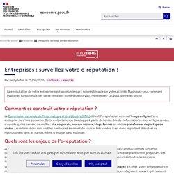 Entreprises : surveillez votre e-réputation !