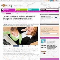 Les PME françaises arrivent en tête des entreprises favorisant le télétravail