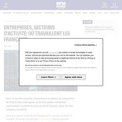Entreprises, secteurs d'activité: où travaillent les Français?