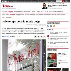 Sale temps pour la mode belge - Entreprises - Trends-Tendances.be