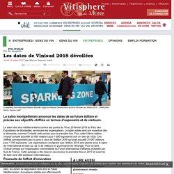 Entreprises / gens du vin : Les dates de Vinisud 2018 dévoilées