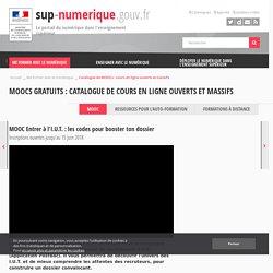 MOOC Entrer à l'I.U.T. : les codes pour booster ton dossier