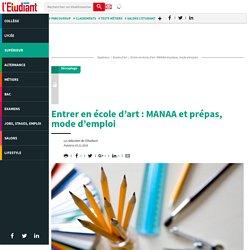 Entrer en école d'art : MANAA et prépas, mode d'emploi - L'Etudiant