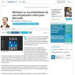 Windows 10: los entretelones de una actualización crítica para Microsoft - 29.07.2015