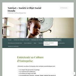 Nutriset – Société à Objet Social Etendu