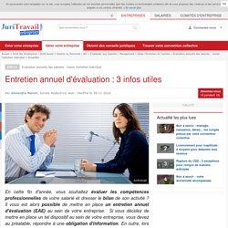 Entretien annuel d'évaluation : 3 infos utiles