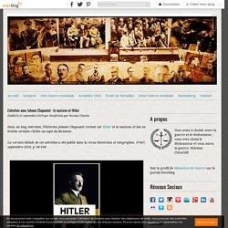 Entretien avec Johann Chapoutot : le nazisme et Hitler