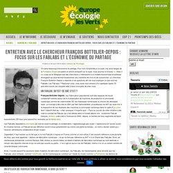 Entretien avec le chercheur François Bottolier-Depois : focus sur les Fablabs et l'économie du partage
