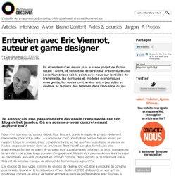 Entretien avec Eric Viennot, auteur et game designer