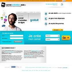 Carnet d'Entretien Auto en ligne simple, économique, et gratuit !