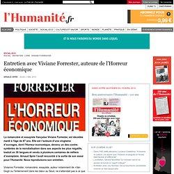 Décès de Viviane Forrester, auteure de l'Horreur économique