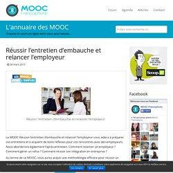 MOOC Réussir l'entretien d'embauche et relancer l'employeur