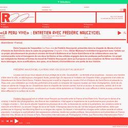 R22-Tout-monde → «La Peau Vive» : Entretien avec Frédéric Nauczyciel, 2017