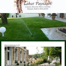 Entretien parcs et jardins 95