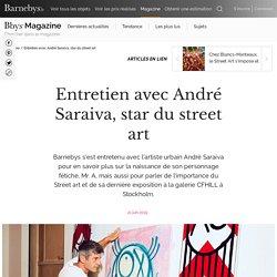 André Saraiva, star du street art