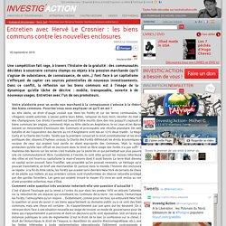 Entretien avec Hervé Le Crosnier: les biens communs contre les nouvelles enclosures