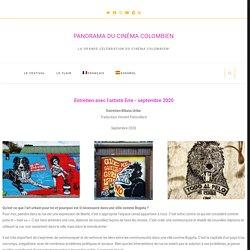 LE FLAIR : Entretien avec l'artiste Erre – PANORAMA DU CINÉMA COLOMBIEN