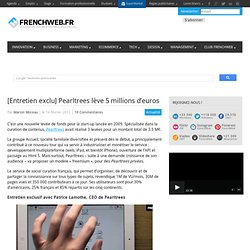 [Entretien exclu] Pearltrees lève 5 millions d'euros