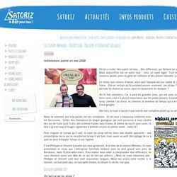Les sirops Meneau – Entretien : Philippe et Vincent Lassalle