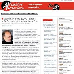 50. Entretien avec Larry Portis : « Qu'est-ce que le fascisme ? »